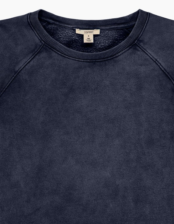 Esprit Girls Sweatshirt-Kleid in verwaschener Optik | ADLER Mode Onlineshop