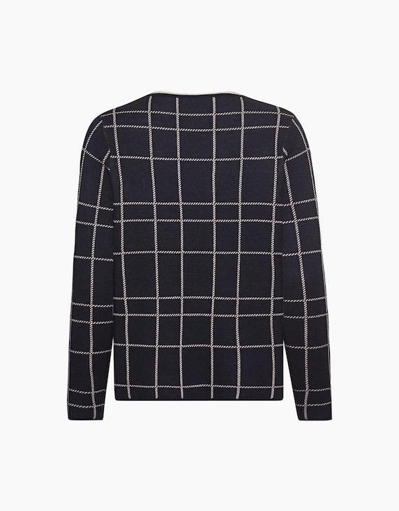 Olsen Sweater mit Karo-Muster | ADLER Mode Onlineshop