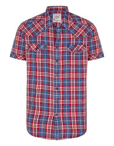 Produktbild zu Karo-Hemd im Jeans-Look von Eagle Denim