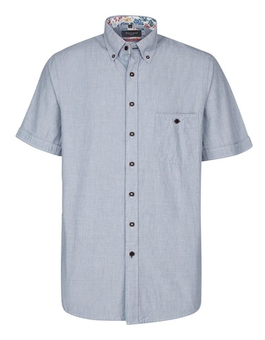 Produktbild zu <strong>Unifarbenes Freizeithemd mit Details</strong>MODERN FIT von Bexleys man