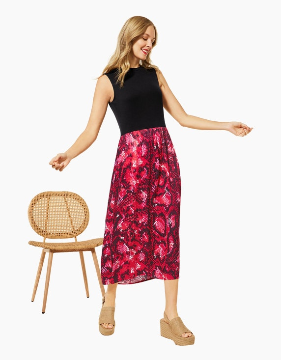 Street One Kleid im Materialmix   ADLER Mode Onlineshop