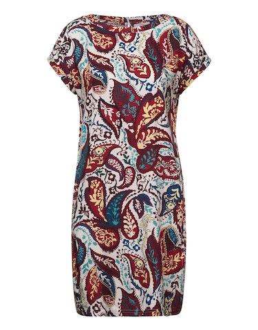 Produktbild zu Gemustertes Dobby-Kleid von CECIL