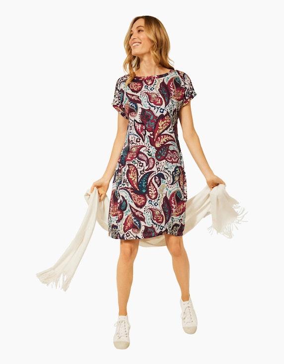 CECIL Gemustertes Dobby-Kleid | ADLER Mode Onlineshop