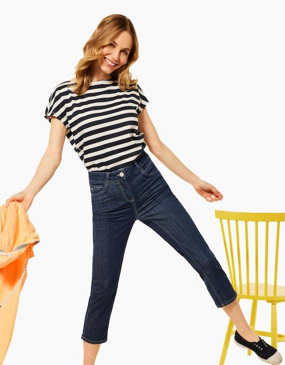 CECIL Slim Fit Hose in 3/4 Länge | ADLER Mode Onlineshop