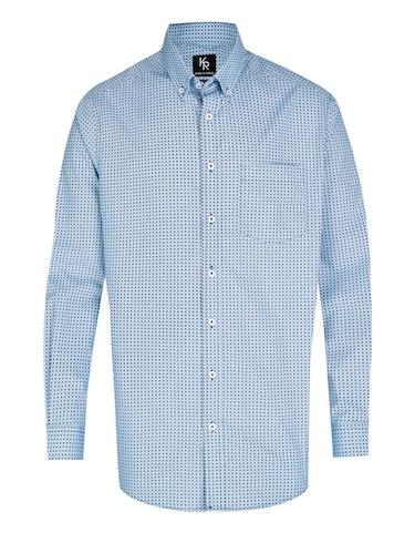 Produktbild zu <strong>Freizeithemd mit modischem Allover-Print</strong>REGULAR FIT von Adler Collection
