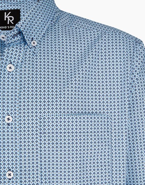 Adler Collection Freizeithemd mit modischem Allover-Print, REGULAR FIT | ADLER Mode Onlineshop