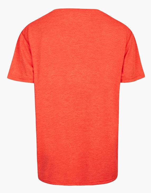 Fit&More Trainings T-Shirt im Melange-Effekt | ADLER Mode Onlineshop