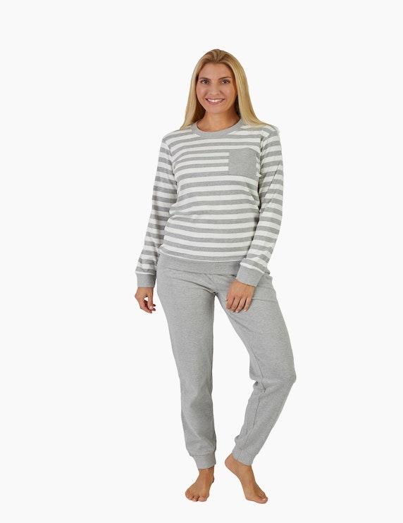 NORMANN Pyjama mit Brusttasche   ADLER Mode Onlineshop