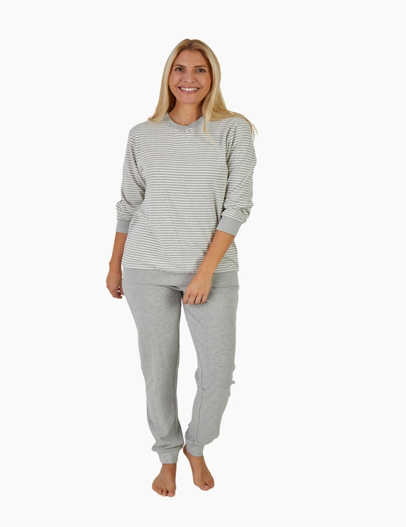 NORMANN Pyjama mit Ringel   ADLER Mode Onlineshop