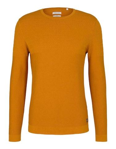 tom tailor - Strukturierter Pullover mit Bio-Baumwolle, 448087