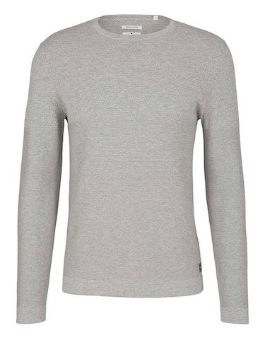 tom tailor - Strukturierter Pullover mit Bio-Baumwolle, 448105