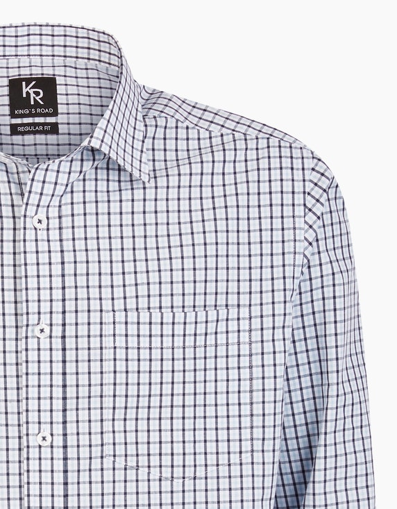 Adler Collection Kariertes Freizeithemd, REGULAR FIT | ADLER Mode Onlineshop