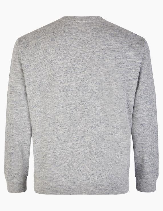 Big Fashion Sweatshirt in Melange | ADLER Mode Onlineshop
