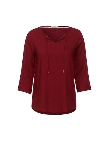 Produktbild zu Bluse mit Tunika-Bändchen von CECIL