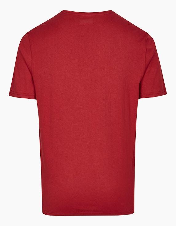 Bexleys man T-Shirt mit Brustprint | ADLER Mode Onlineshop