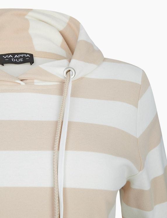 VIA APPIA DUE Sweatshirt mit Ringel | ADLER Mode Onlineshop