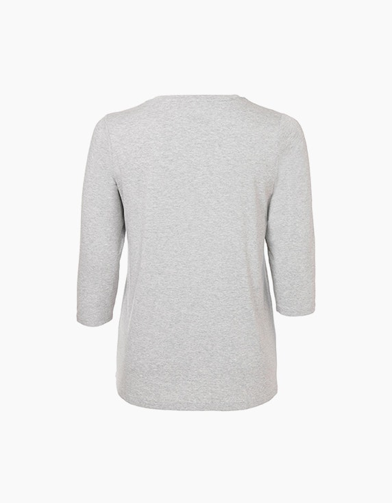 VIA APPIA DUE Shirt mit Glamour-Brustprint | ADLER Mode Onlineshop