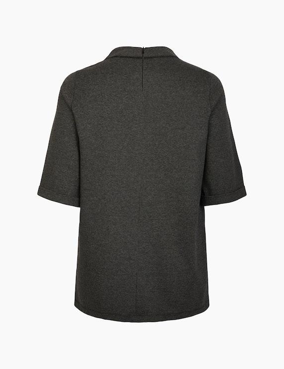 No Secret Jacquard-Shirt mit Hahnentritt-Muster | ADLER Mode Onlineshop