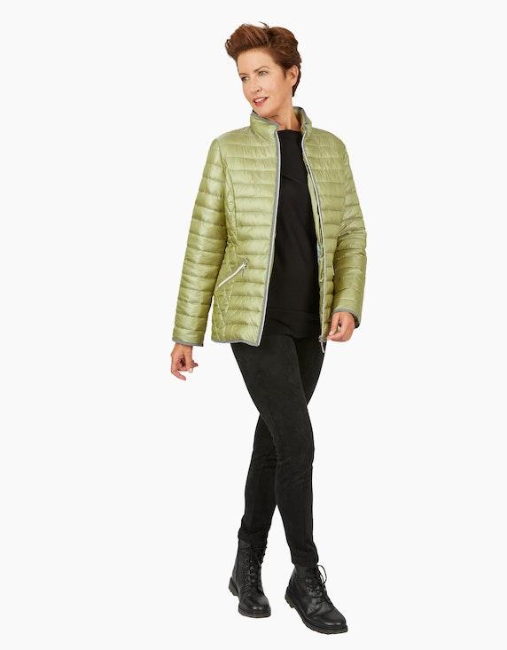 Bexleys woman Steppjacke mit Flanell-Paspeln | ADLER Mode Onlineshop