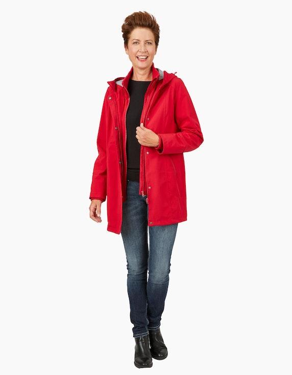 Eibsee Softshell-Jacke mit Streifenfutter | ADLER Mode Onlineshop