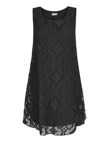 Produktbild zu Kleid mit Häkelspitzendetails von Made in Italy