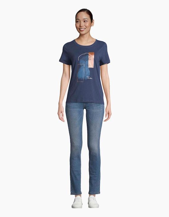 Tom Tailor Shirt mit Part-Print | ADLER Mode Onlineshop