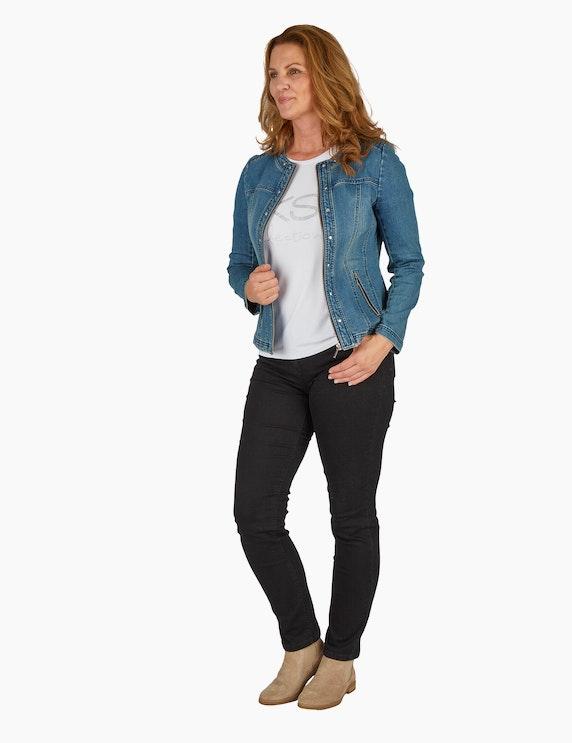 Bexleys woman Jeansjacke mit Ziernieten | ADLER Mode Onlineshop