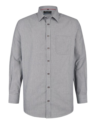Produktbild zu <strong>Dresshemd mit feinem Streifen-Dessin</strong>REGULAR FIT von Bernd Berger