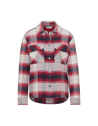 Produktbild zu Hemdjacke mit Karo-Muster von Street One