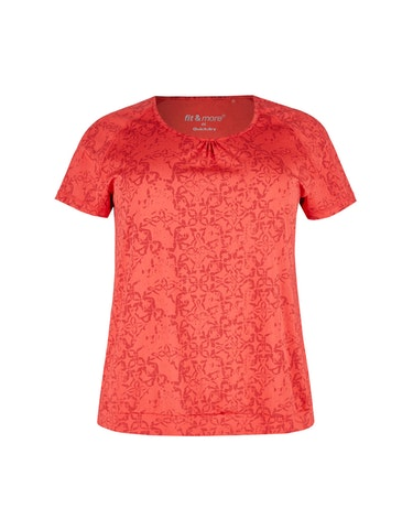 Produktbild zu Gemustertes Fitness T-Shirt von Fit&More