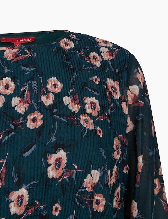 Thea Pilssee Kleid aus Chiffon mit Blumenmuster   ADLER Mode Onlineshop