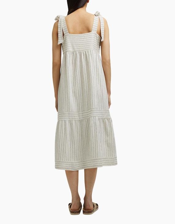 Esprit Streifen-Kleid mit Bindeträgern | ADLER Mode Onlineshop