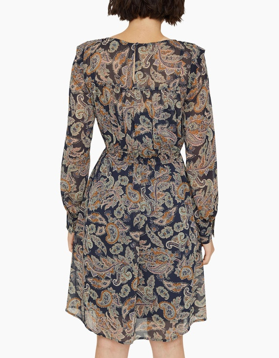 Esprit Chiffonkleid mit Paisleyprint | ADLER Mode Onlineshop