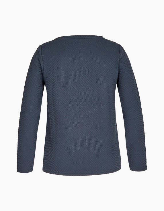 Bexleys woman Sweatshirt in Jacquard-Qualität | ADLER Mode Onlineshop