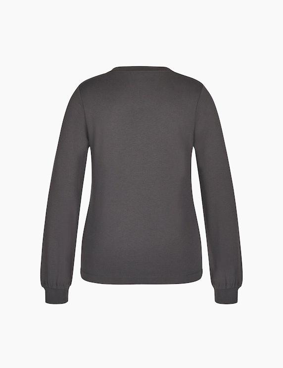 Bexleys woman Einfarbiges Sweatshirt | ADLER Mode Onlineshop