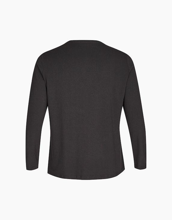 No Secret Langarmshirt mit Paillettenbesatz | ADLER Mode Onlineshop