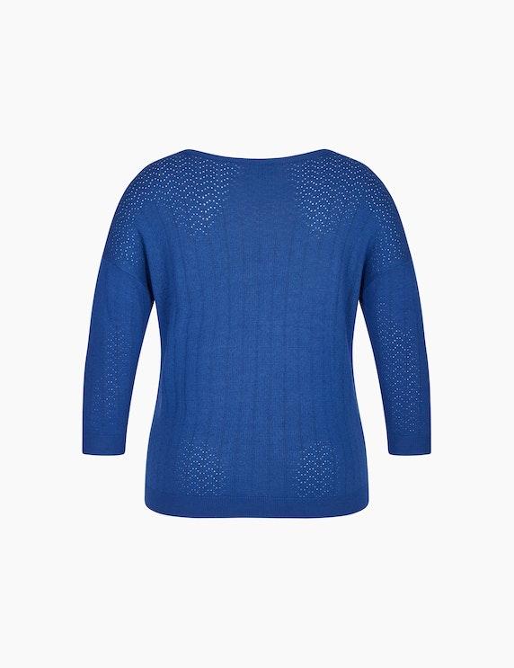 Bexleys woman Pullover mit Lochstrickmuster   ADLER Mode Onlineshop