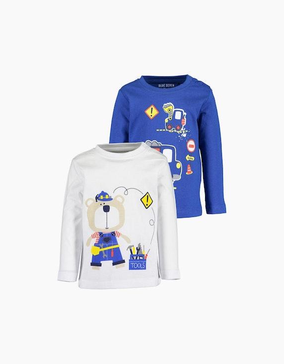 Blue Seven Baby Boys Langarmshirt im 2er-Pack | ADLER Mode Onlineshop