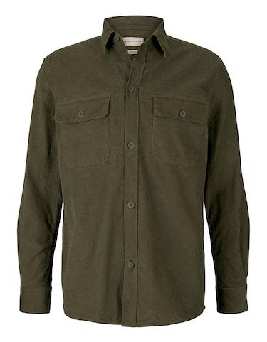 Produktbild zu gemustertes Hemd aus Bio-Baumwolle von Tom Tailor