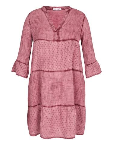 made in italy - Musselin-Kleid aus Baumwolle, 123048