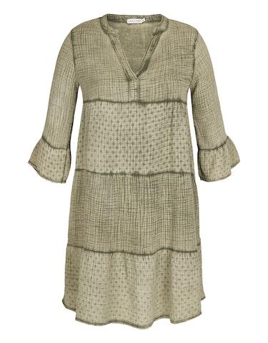 made in italy - Musselin-Kleid aus Baumwolle, 123049