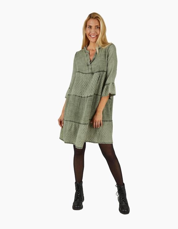 Made in Italy Musselin-Kleid aus Baumwolle | ADLER Mode Onlineshop