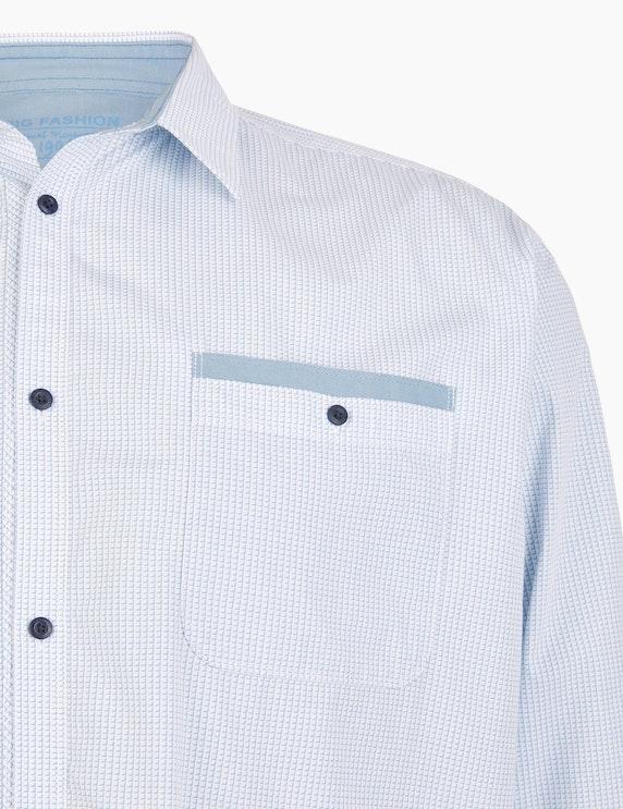 Big Fashion Gemustertes Langarmhemd | ADLER Mode Onlineshop