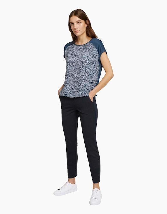 Tom Tailor Shirt mit Allover-Print | ADLER Mode Onlineshop