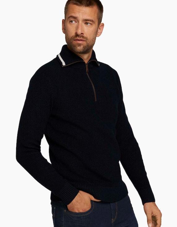 Tom Tailor Pullover mit recyceltem Polyester | ADLER Mode Onlineshop