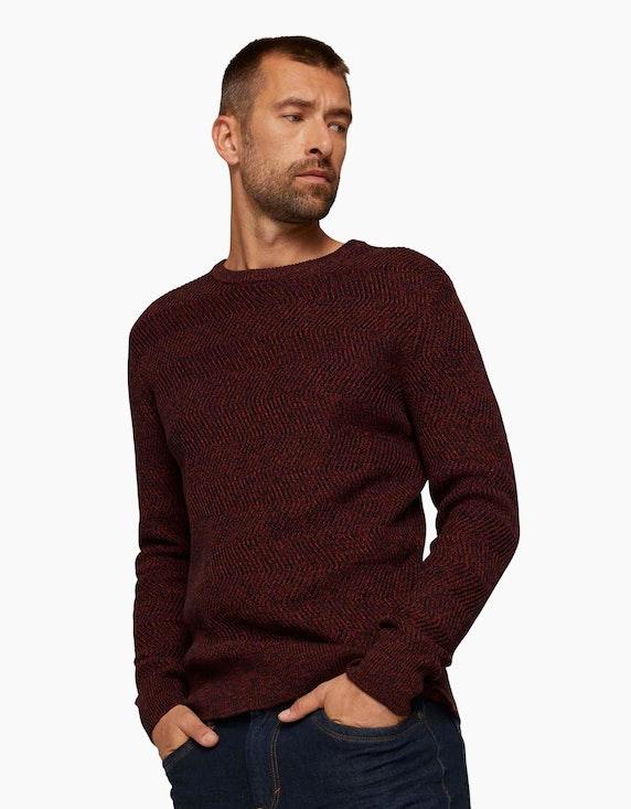 Tom Tailor Pullover aus Bio-Baumwolle | ADLER Mode Onlineshop