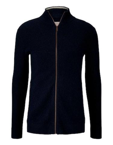 tom tailor - Strickjacke mit recyceltem Polyester, 986295