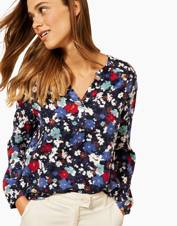 CECIL Bluse mit Blumen Print | ADLER Mode Onlineshop