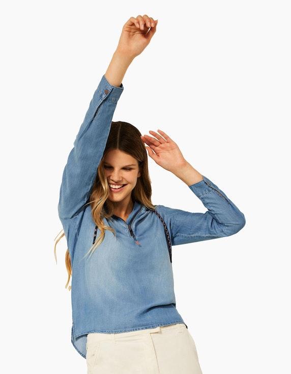 CECIL Hoodie Bluse aus Tencel | ADLER Mode Onlineshop