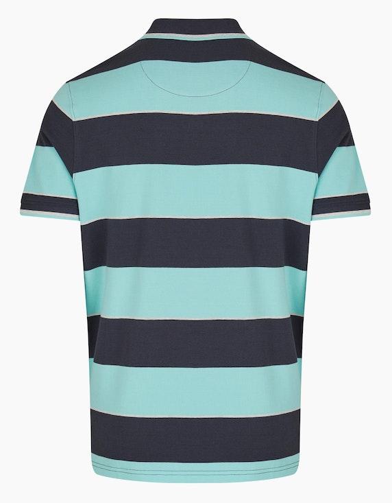 Bexleys man Poloshirt mit Blockstreifen | ADLER Mode Onlineshop